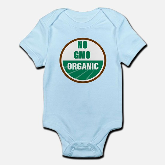 No Gmo Organic Infant Bodysuit