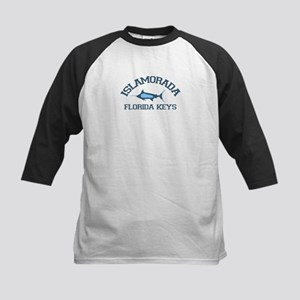 Islamorada - Fishing Design. Kids Baseball Jersey