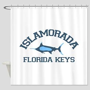 Islamorada - Fishing Design. Shower Curtain