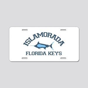 Islamorada - Fishing Design. Aluminum License Plat