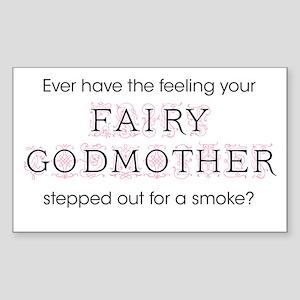 Fairy Godmother Sticker (Rectangle)