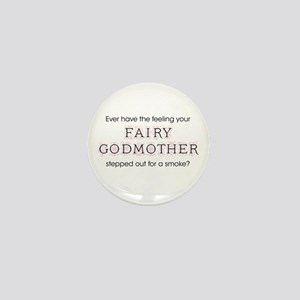 Fairy Godmother Mini Button