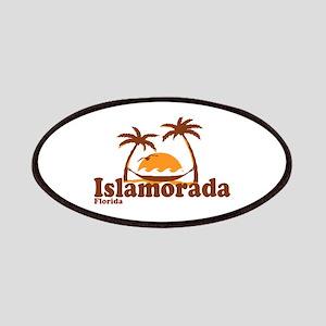 Islamorada - Palm Trees Design. Patches