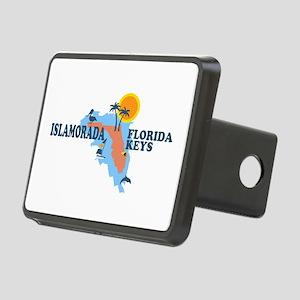 Islamorada - Map Design. Rectangular Hitch Cover