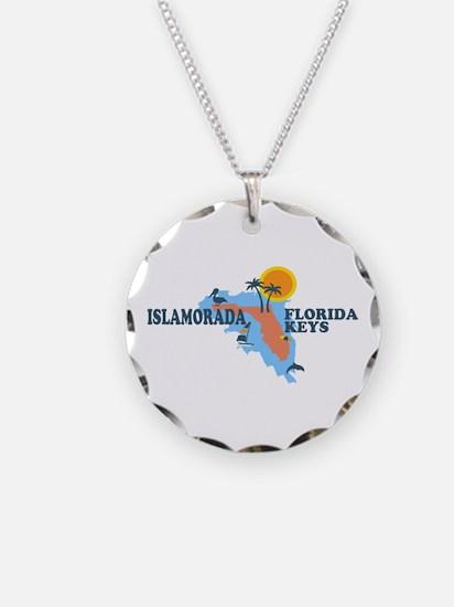 Islamorada - Map Design. Necklace