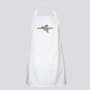 Islamorada - Map Design. Apron