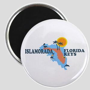 Islamorada - Map Design. Magnet