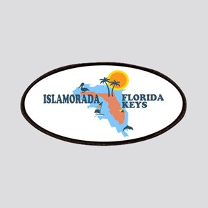 Islamorada - Map Design. Patches