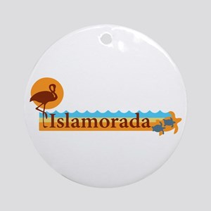 Islamorada - Beach Design. Ornament (Round)