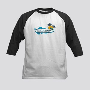 Islamorada - Surf Design. Kids Baseball Jersey
