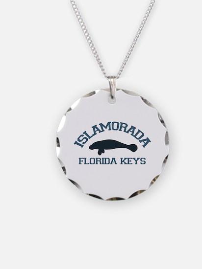 Islamorada - Manatee Design. Necklace