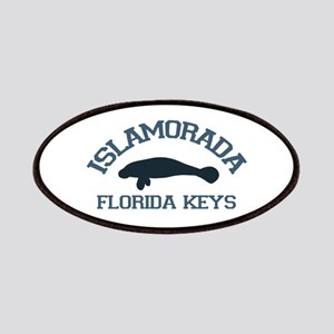 Islamorada - Manatee Design. Patches