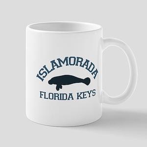 Islamorada - Manatee Design. Mug