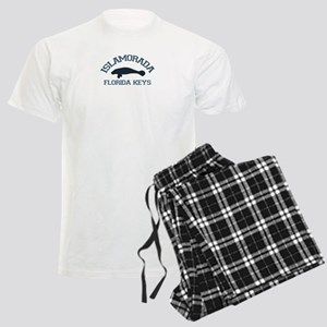 Islamorada - Manatee Design. Men's Light Pajamas