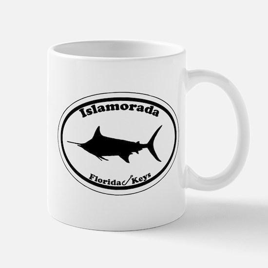 Islamorada - Oval Design. Mug