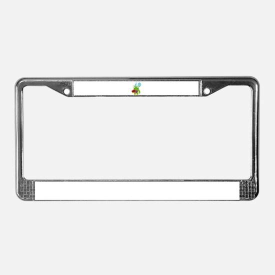Birthday Monster License Plate Frame