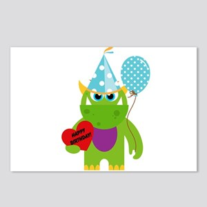 Birthday Monster Postcards (Package of 8)