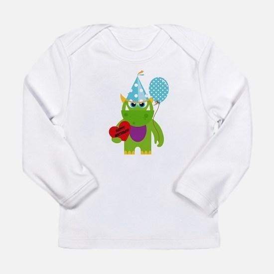 Birthday Monster Long Sleeve T-Shirt