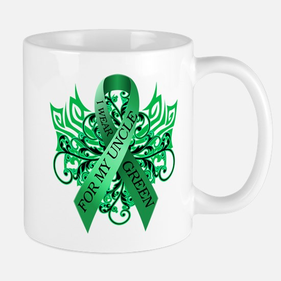 I Wear Green for my Uncle Mug