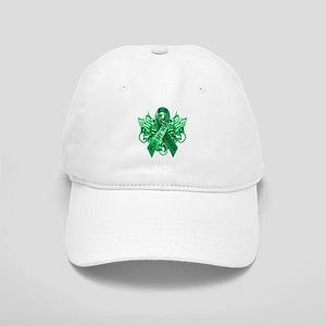 I Wear Green for my Wife Baseball Cap