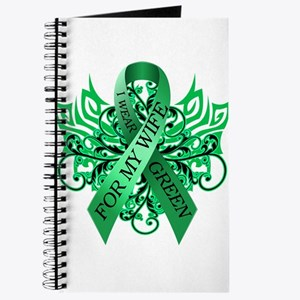 I Wear Green for my Wife Journal