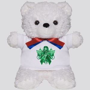 I Wear Green for my Wife Teddy Bear