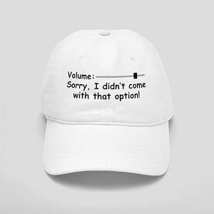 Volume Control Baseball Cap