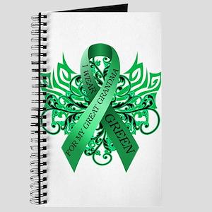 I Wear Green for my Great Grandma Journal