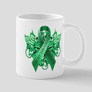 I Wear Green for my Daughter Mug