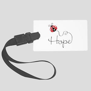 Ladybug Hope Luggage Tag