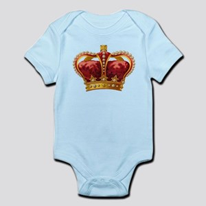 Vintage Royal Crown of Gold Body Suit