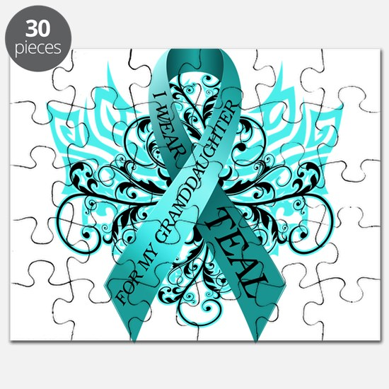 I Wear Teal Puzzle