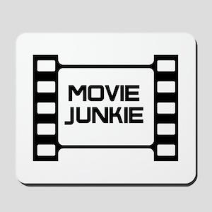 movie junkie Mousepad