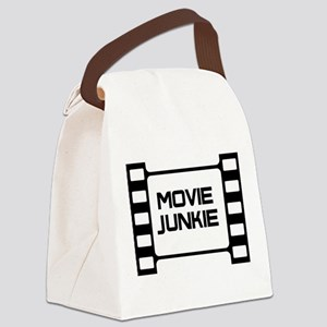movie junkie Canvas Lunch Bag
