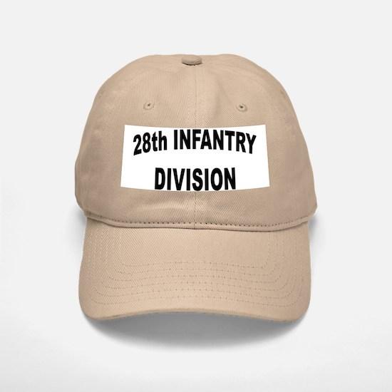 28th INFANTRY DIVISION Baseball Baseball Cap