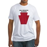 28th INFANTRY DIVISION Fitted T-Shirt