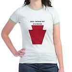 28th INFANTRY DIVISION Jr. Ringer T-Shirt