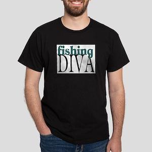 Fishing Diva Dark T-Shirt