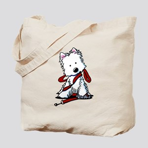 LET'S GO! Westie Tote Bag