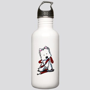 LET'S GO! Westie Stainless Water Bottle 1.0L