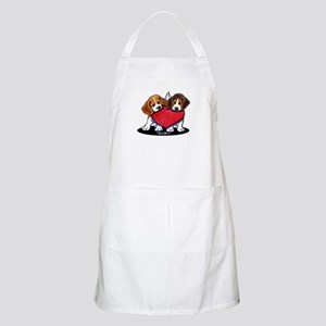 Beagle Heartfelt Duo Apron