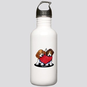 Beagle Heartfelt Duo Stainless Water Bottle 1.0L