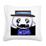 Gondolier Panda Square Canvas Pillow