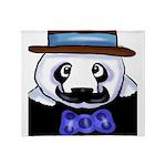Gondolier Panda Throw Blanket