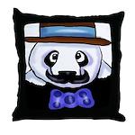 Gondolier Panda Throw Pillow