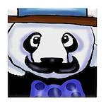 Gondolier Panda Tile Coaster