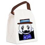 Gondolier Panda Canvas Lunch Bag