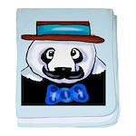Gondolier Panda baby blanket