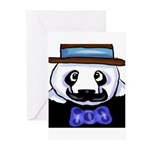 Gondolier Panda Greeting Cards (Pk of 20)