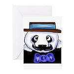 Gondolier Panda Greeting Card